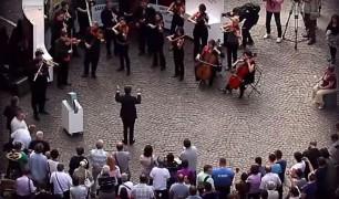 Flashmob Budapesten